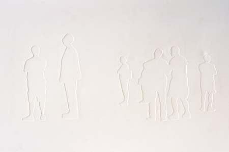 Shin il Kim, Invisible Masterpiece II 2003, plaster