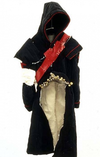 Eunah Kim, Shaman's Costume 2005, fabric, duct-tape, jingle bells