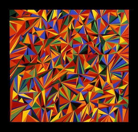 Gloria Klein, Untitled No. 1 2005-2006, acrylic on canvas