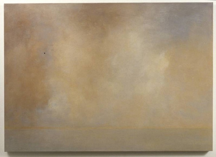 Cynthia Knott, Evermore 2006, oil, encasutic & metallic on linen