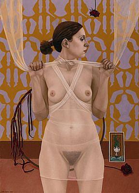 Lani Irwin, Transparent Whisper 2000, oil on linen