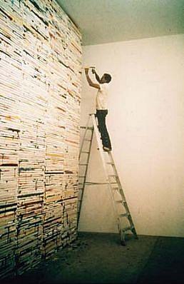 Richard Jackson, Big Ideas (1000 Pictures) 1980, acrylic on canvas
