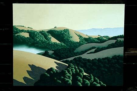 Ray Jacobsen, Deep Canyon 1 2004, oil