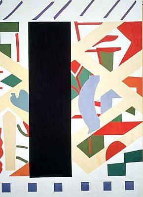 Shirley Jaffe, Stripes 1993