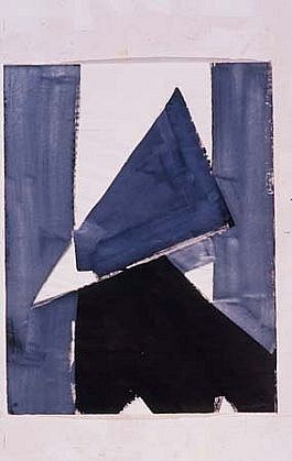Inge Jakobsen, Untitled 2001, indian ink, gouache on paper
