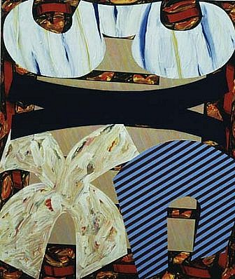Stuart Jennings, Morisco 1993, acrylic on canvas