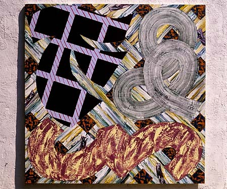 Stuart Jennings, Half Hitch 1997, acrylic on canvas