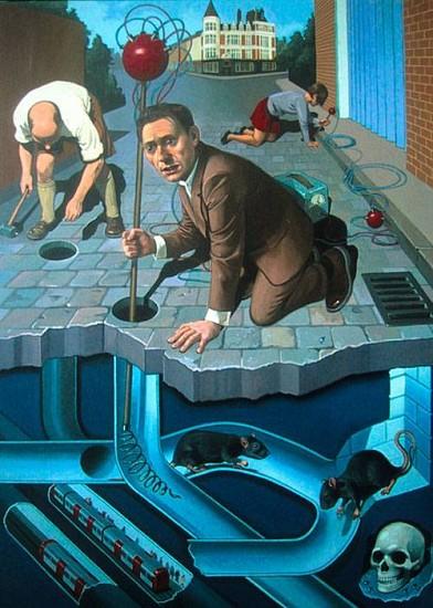 Nicholas Jolly, The Street 2007, oil on canvas