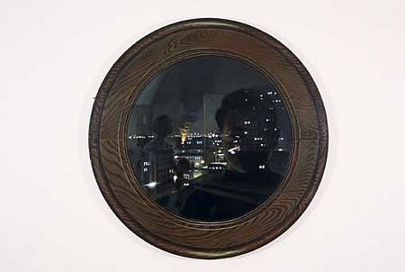 Leeah Joo, Mr. Kim's Waiting Mind 2006, acrylic on canvas