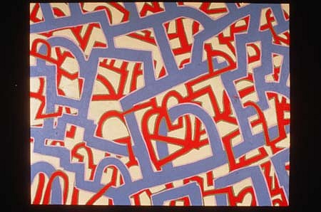 John Himmelfarb, I. R. Band 1997, acrylic on canvas