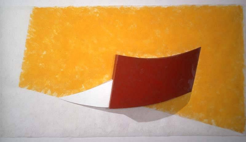 Charles Hinman, Zeta Perseids 2002, acrylic on synthetic fabric