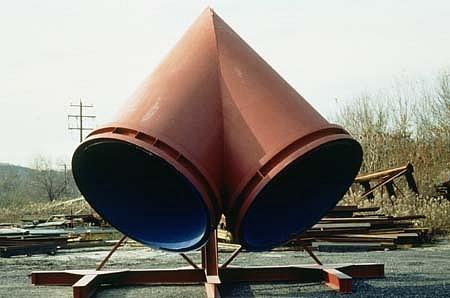 John Hock, Torso 1993, steel painted