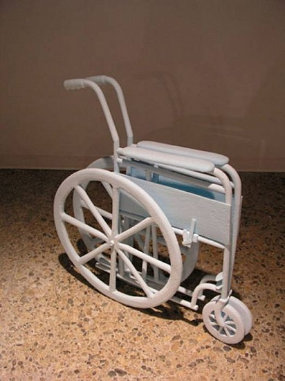 Fred Holland, Wheelchair 2007, styrofoam