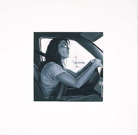 Jayne Holsinger, Bree 1998, oil on gessoed wood panel