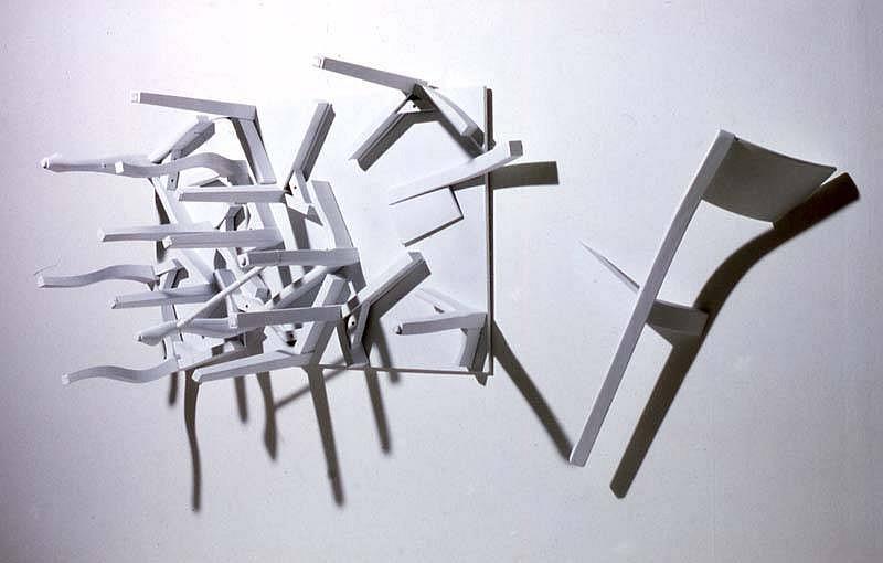 Euyoung Hong, Chairs 2006, mixed media