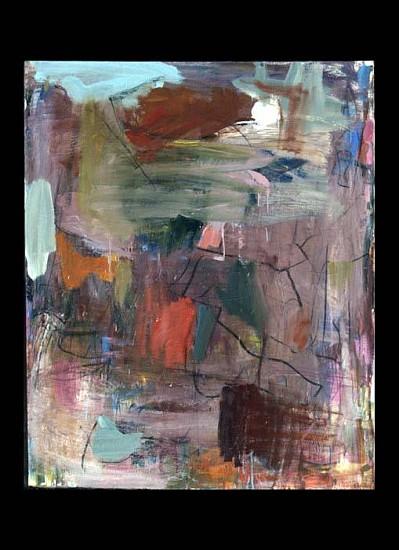 Pud Houstoun, Earth Murmur 2000, oil on linen