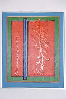 Jean Hyson, Infinity 1995, acrylic, enamel