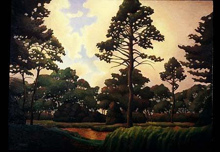 Matthew Hagemann, Landscape No. 3 oil on canvas