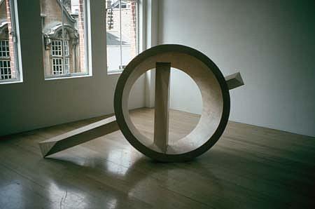 Nigel Hall, Soglio IV 1994, wood