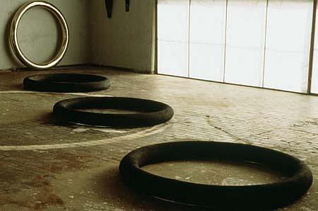 Claes Hake, Untitled 1996, cast bronze, cast iron