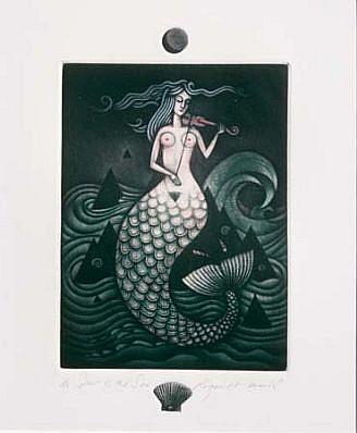 Roger Harris, Spirit of the Sea 1996, mezzotint