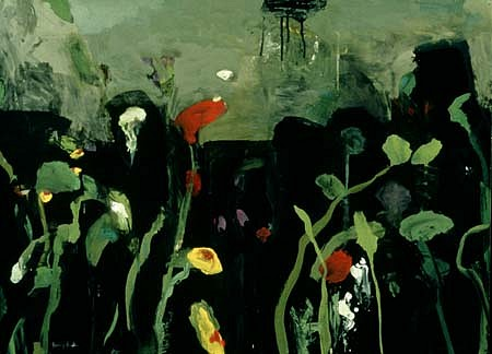 Susan Hambleton, Growing Garden 5 1997, tempera, pastel