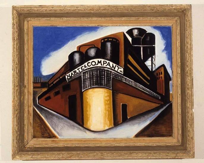 Arthur Hammer, Harte & Co. 2007, oil on canvas