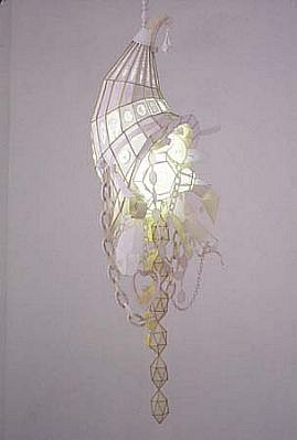 Kirsten Hassenfeld, Horn of Plenty 2004, paper with mixed media