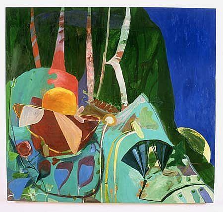 Julian Hatton, Blackeyed Susan 2000, oil on canvas