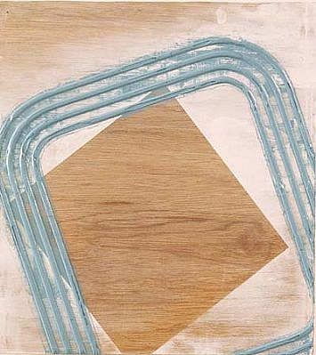 Gerald Hayes, Titanium 1997, acrylic on wood