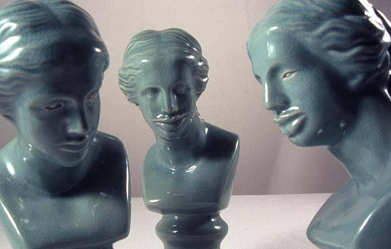 Debbie Han, Terms of Beauty II 2005, ceramic celedon
