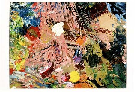 Joseph Greenberg, Far East Empire 1993, oil on paper
