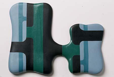 Nicolas Guagnini, Untitled 1998, oil on mdf