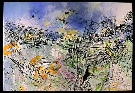Iva Gueorguieva, Launching Decrepitus 2004, acrylic on canvas