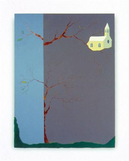 Jeff Gauntt, Verse of the Killdee 2006, acrylic and mixed media