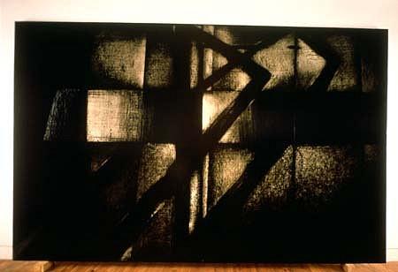 Aharon Gluska, Cosmos 1987-88, oil on canvas