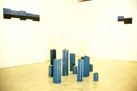 Maximilian Goldfarb, Decoys 1998, plastic, balsa wood, foam, acrylic
