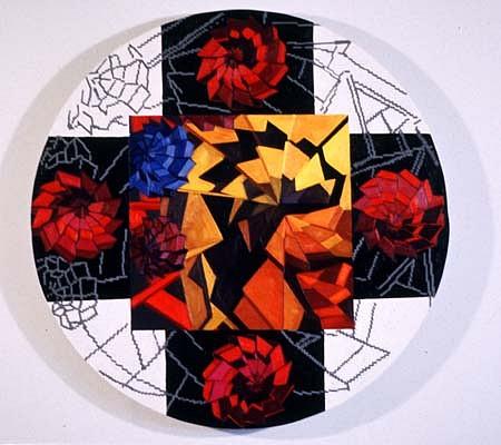 Jessica Gondek 2001, oil on canvas