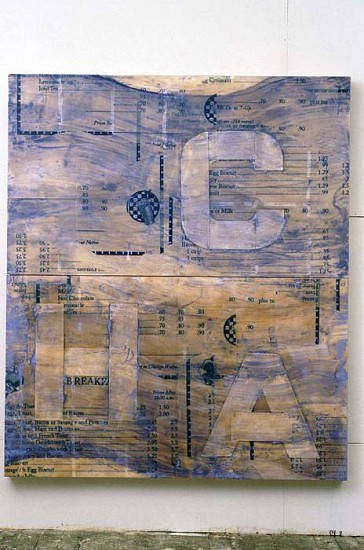 Guy Goodwin, Chauncy Flats 1996, mixed media on wood