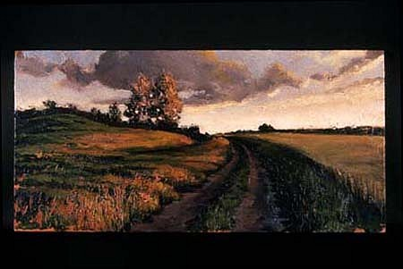 Michael Goodwin, Twilight 1998, acrylic on wood