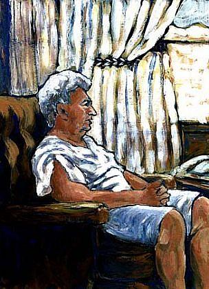 Lori Gordon, Passing Time acrylic on wood panel