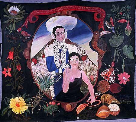 Ana Fernandez, Que Soberbio 2001, acrylic on canvas