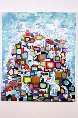 Jane Fine, Foam 2000, oil on canvas