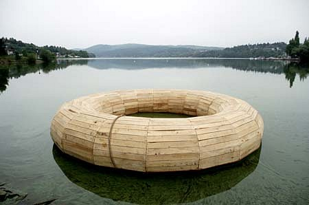 Vaclav Fiala, The Rescue Wheel for the Flooded Village Kn�nice oak