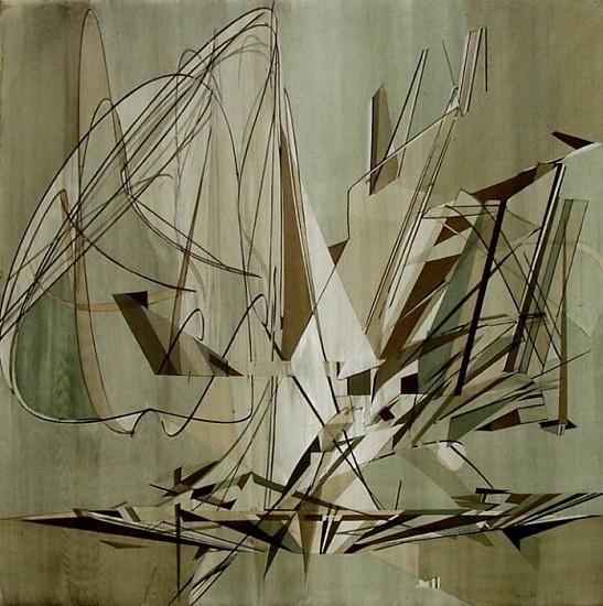 Chris Finley, Schumer 2007, acrylic on canvas