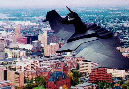 Peter Forbes, Aero-Dog Surveillance Unit 1997 - 1998, plastics, electronics