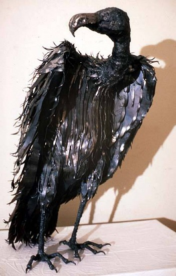 Cher Fox, Vulture I 1999, steel