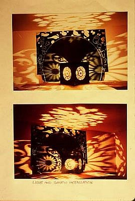 Charles Frazier, Projected Images (Two Views) 2004, mixed media