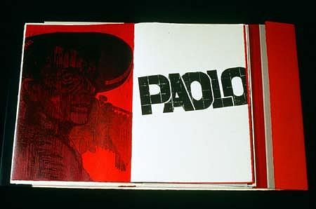 Antonio Frasconi, In Memoriam: Pier Paolo Pasolini: Una Disperata Vitalita 1993