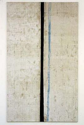 Joe Fyfe, Oliveros 2004, burlap, felt, acrylic